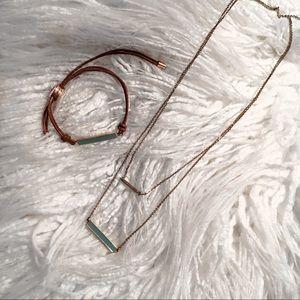Fossil Jewelry Set